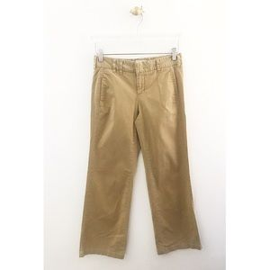 vince / tan flap pocket trousers pants straight